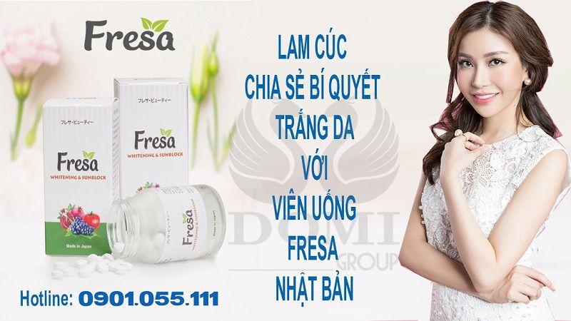 """Hoa hậu Lam Cúc chia sẻ cách chống nắng """"để ai cũng đẹp như mình""""!"""