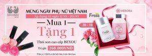 Mừng ngày Phụ Nữ Việt Nam 20-10 - Mua 1 Tặng 1 Siêu HOT