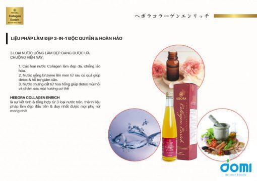 Hebora Collagen Enrich nước uống bổ sung collagen