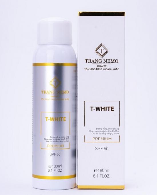 Chai xịt trắng da Twhite Trang Nemo
