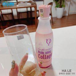 Ảnh thực tế cách sử dụng nước uống Collagen tươi Schon
