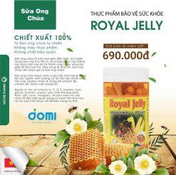 Thành phần của Viên uống Sữa Ong Chúa Schon Royal Jelly