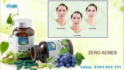 Viên uống hoa quả Zero Acnes