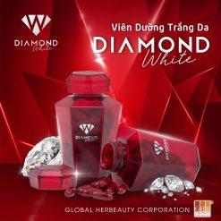 Viên uống dưỡng trắng da Diamond White